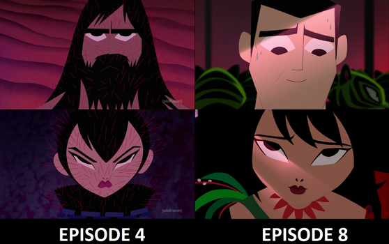 Jack and Ashi Before and After by MnstrFrc