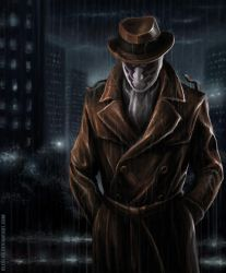 Rorschach Lives by oleolah