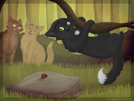 Poor little Ravenpaw by Blaukralle