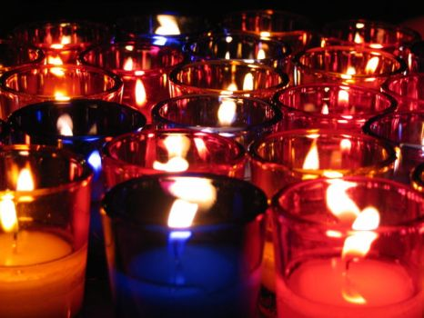 Candles by crop