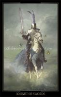 Knight of Swords by ThelemaDreamsArt