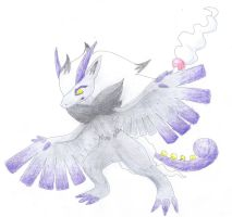 Pokemon hybrid Therian tornadus - Zoroark SOLD
