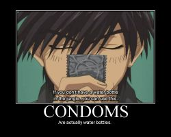 Condoms by Ritoshi-Uenohara