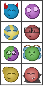 Vector emotes by Synfull