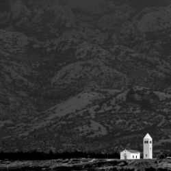 Church on the coast of Dalmatia by ernesto1de