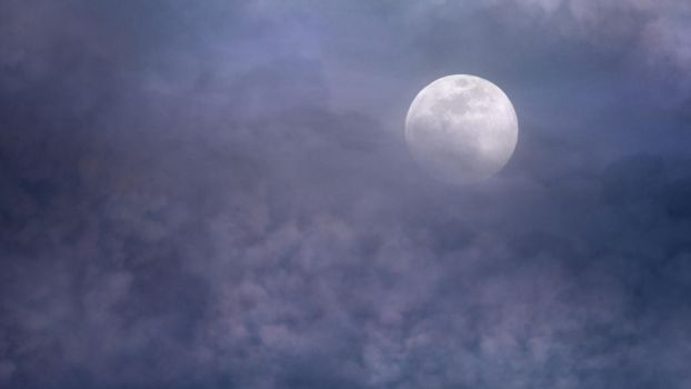 Moonlight clouds stock 1 by AStoKo