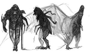 Daily sketch #10 concepts by SharkyToof
