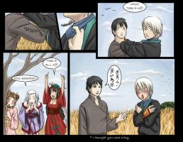 SDL: Archer in the rye 4 by dire-musaera