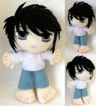 Commission, Mini Plushie Ryuzaki by ThePlushieLady