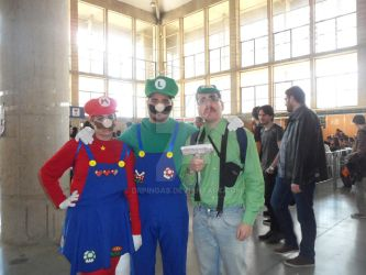 Luigi's Mansion and Super Mario Brothers #SMJ2016 by DrPingas