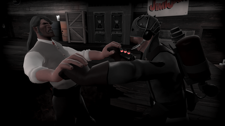 Nightmare Medic Meets his Ultimate Match by ToxicHolyGrenade
