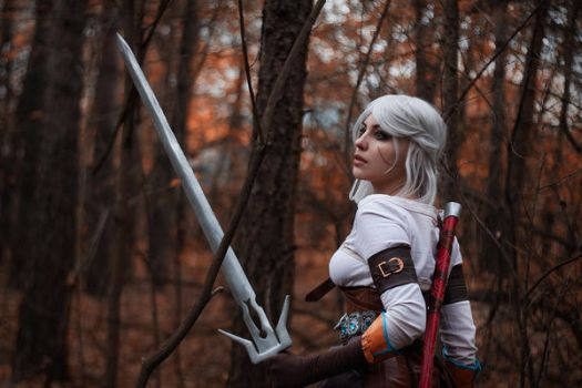 Cirilla cosplay by AnnaStoya