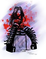 Goth Girl by montalvo-mike