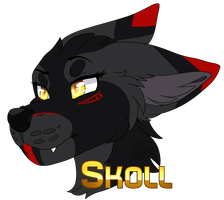 Badge Skoll by xRubyCayx