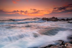 Galician sunset VI by MarcosRodriguez