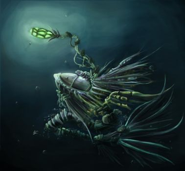 Deapsea Diver by DrexilWatcher