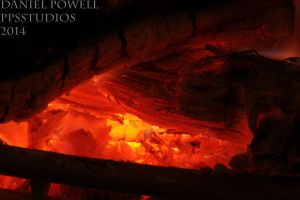 Fireplace 05 - The Heart by dePow9999