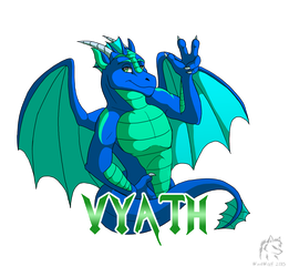 Vyath badge by WindWo1f by VyathRekaer