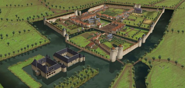 Middleburg Anno 1515 by Norke