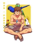 Rao and Parrots by MondoArt