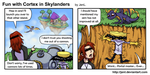 Fun with Dr. Cortex in Skylanders by JenL