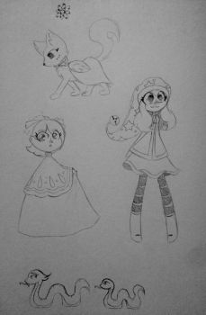 SKaTA Character redesigns by rosalinawysteria92