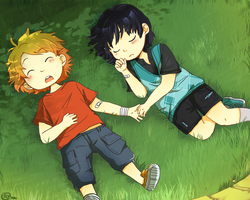 Brotherhood by caly-graphie