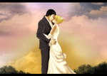 Sunset Wedding by hand-made-city