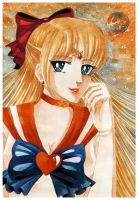 .:Sailor Venus:. by yoneyu