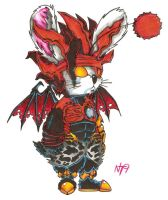 Vincent: Chaos Moogle by Neotokyo9
