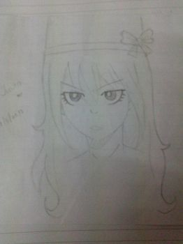 Juvia Sketch [Another Fairy Ta(i)l(e) Doujinshi] by LilyRose98