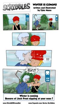 Jack Frost's Winter Is Coming - Scribbles by DR4WNOUT