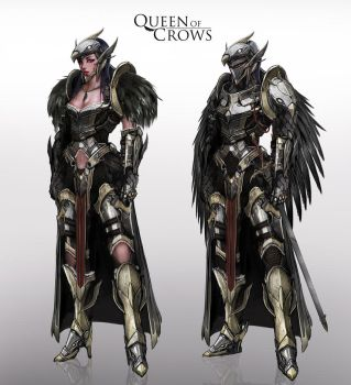 Queen of Crows by johnsonting
