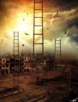 Immigration to the sky in Syria by promise2smile4ever