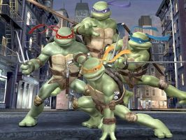 TMNT BEST TEAM EVER by snofs