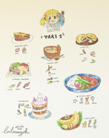 F / / / Hyrule Recipes / Part 1 by Luluugah