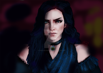 Yennefer Of Vengerberg - The Witcher by TheFacelessPainter