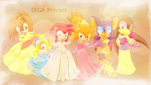 SONIC Princess by SidusPrime