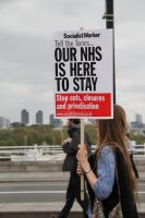 May 18th 2013 - Save the NHS: 38 by LouHartphotography