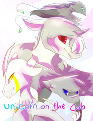 Unicorn On The Cob Promotional poster by Icefelis