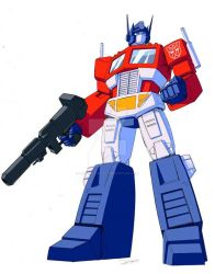 Optimus Prime by Dan-the-artguy