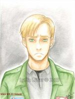 SH2 Watercolor Series_James Sunderland by Lilly-Lamb