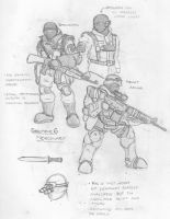 Sector 6 Mercenaries by eightball6219
