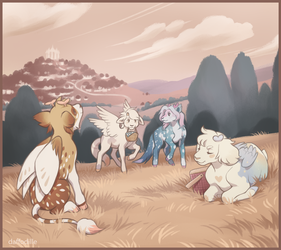 Picnic by DaffoDille