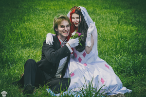 Harley Quinn and Joker [Wedding ver.] 10 by ThePuddins