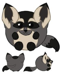 Squishable - Bat Eared Fox VOTE by Thorn-Zenithar