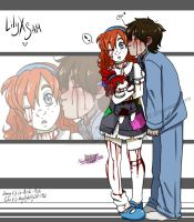 -Collab- Lily X Sam? by NaughtyKittyDV-1992