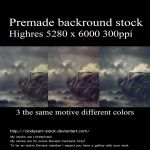 Premade Rock by cindysart-stock by CindysArt-Stock