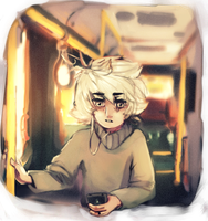 on a bus by hydromanic