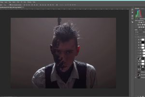 Photoshop step by step retouch Making of Decay by JonathanMH